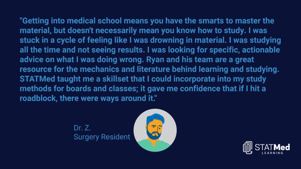 Med School Testimonial