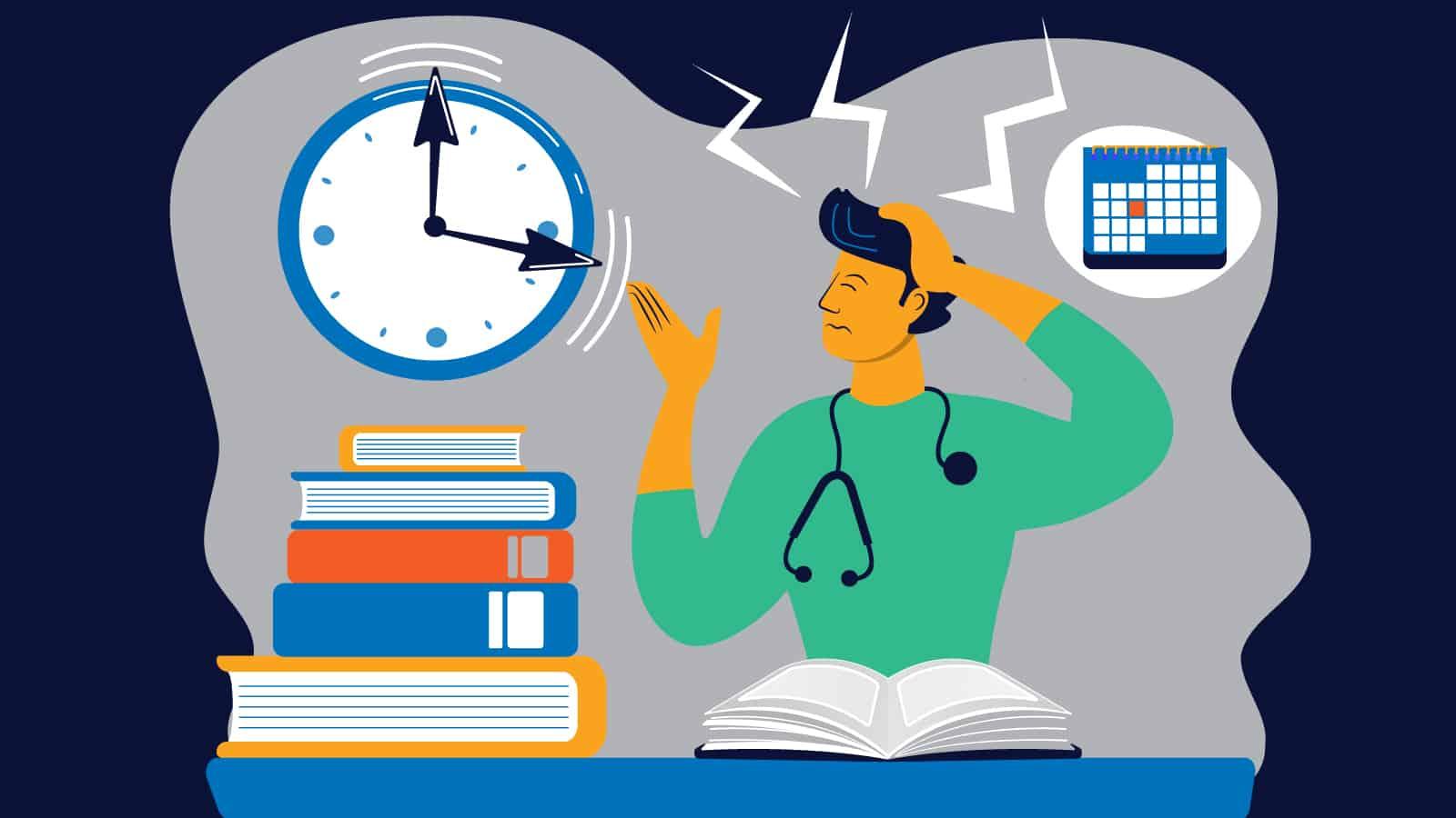 Student Struggline in Med School