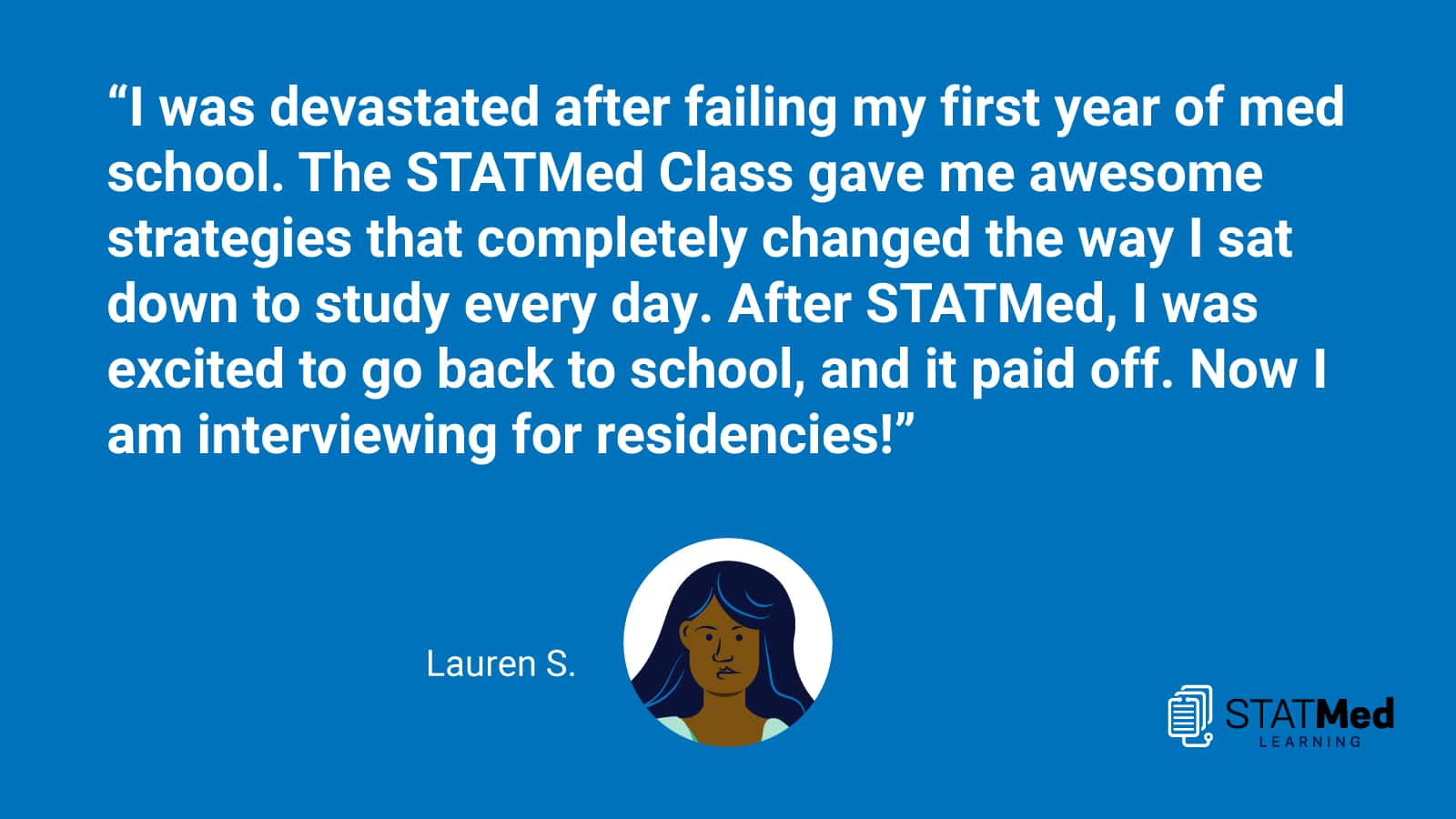 "Featured image for """"After STATMed, I was excited to go back to school, and it paid off."""""