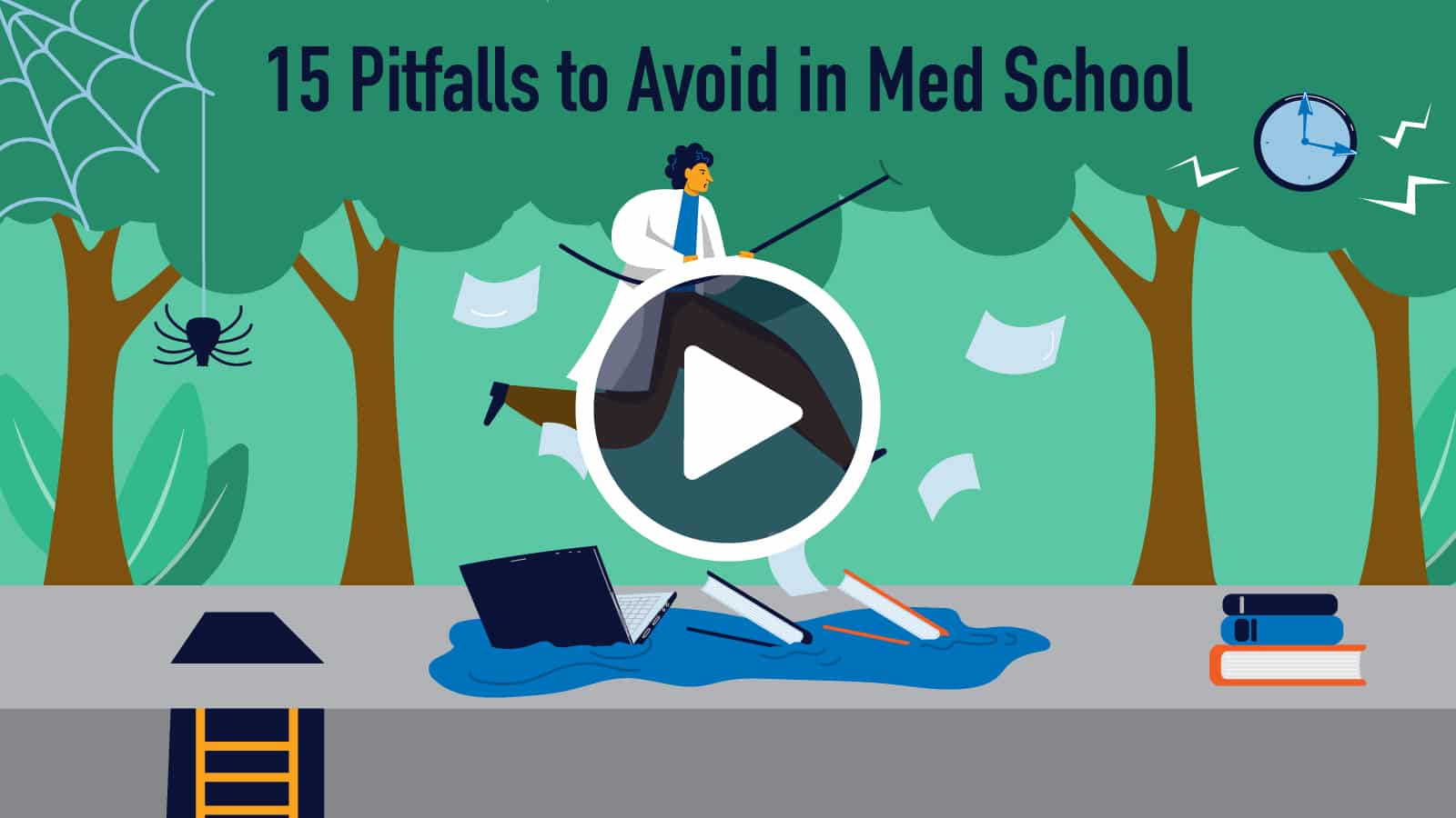 Struggling in Med School? Avoid These Common Pitfalls
