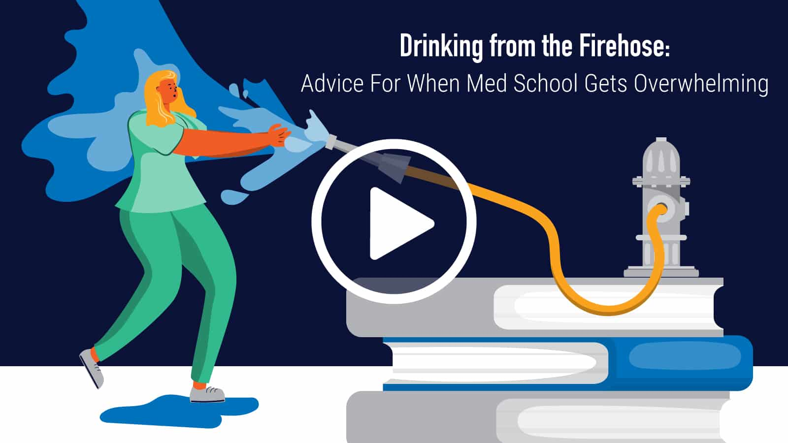 Learn to Overcome Information Overload and Keep Up in Med School
